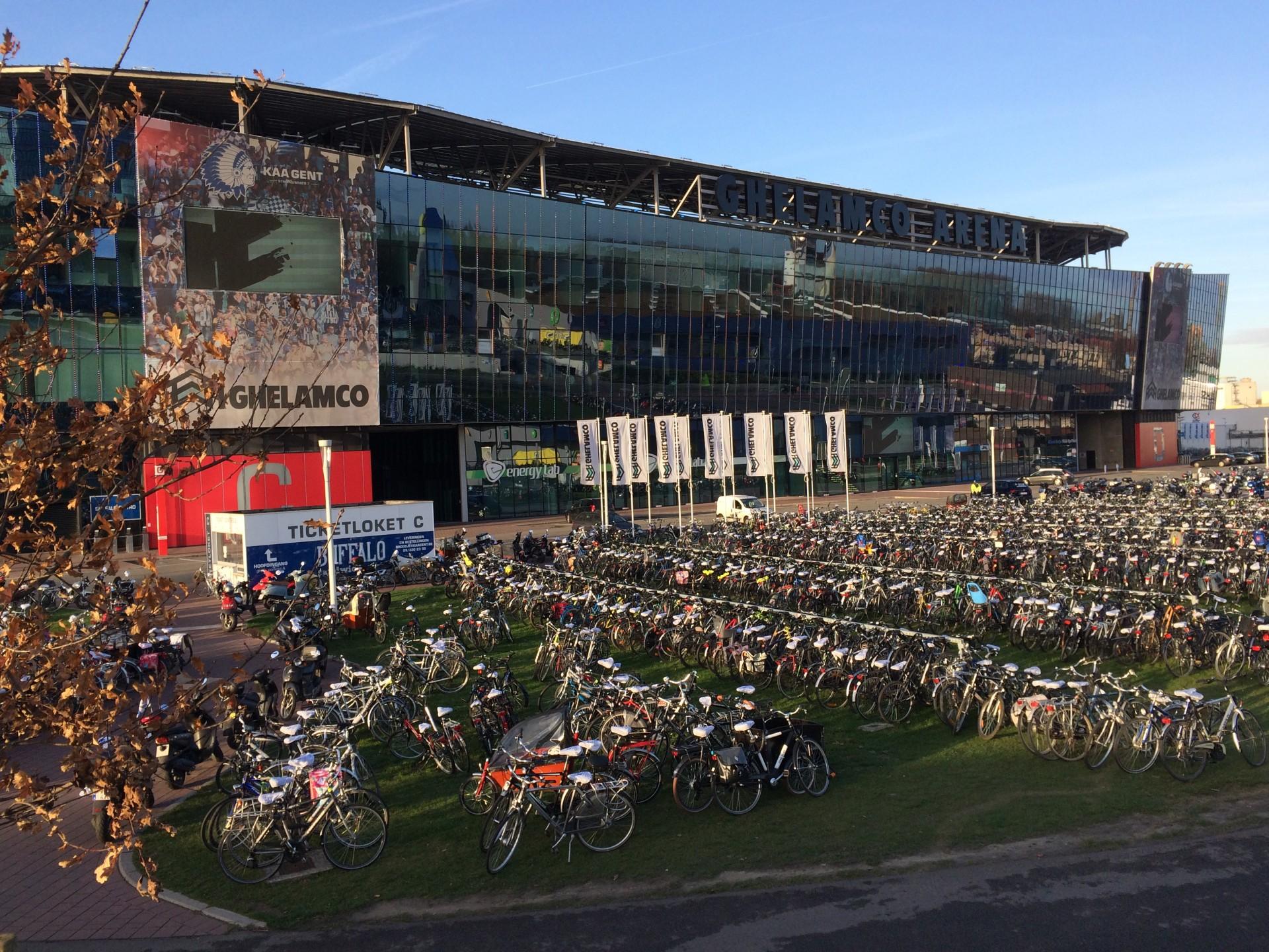 Kaa Gent Discovers Ghent By Bike Morethanfootballeu