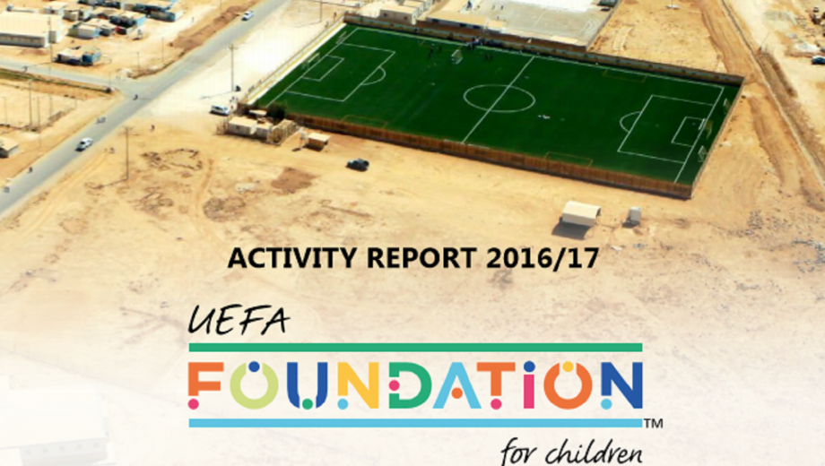UEFA Foundation Activity Report