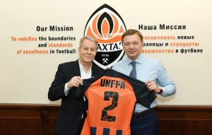 Shakhtar and UNFPA Agreement
