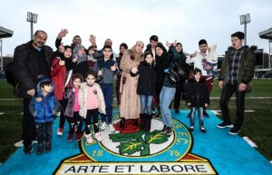 Morethanfootball refugee focus day blackburn rovers