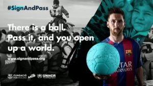 Morethanfootball refugee focus day barcelona