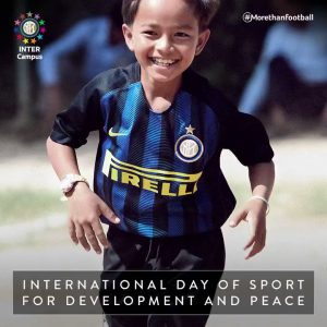 International Day of Sport for Development and Peace Inter Milan