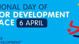 International Day of Sport for Development & Peace banner
