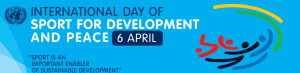 International Day of Sport for Development & Peace banner
