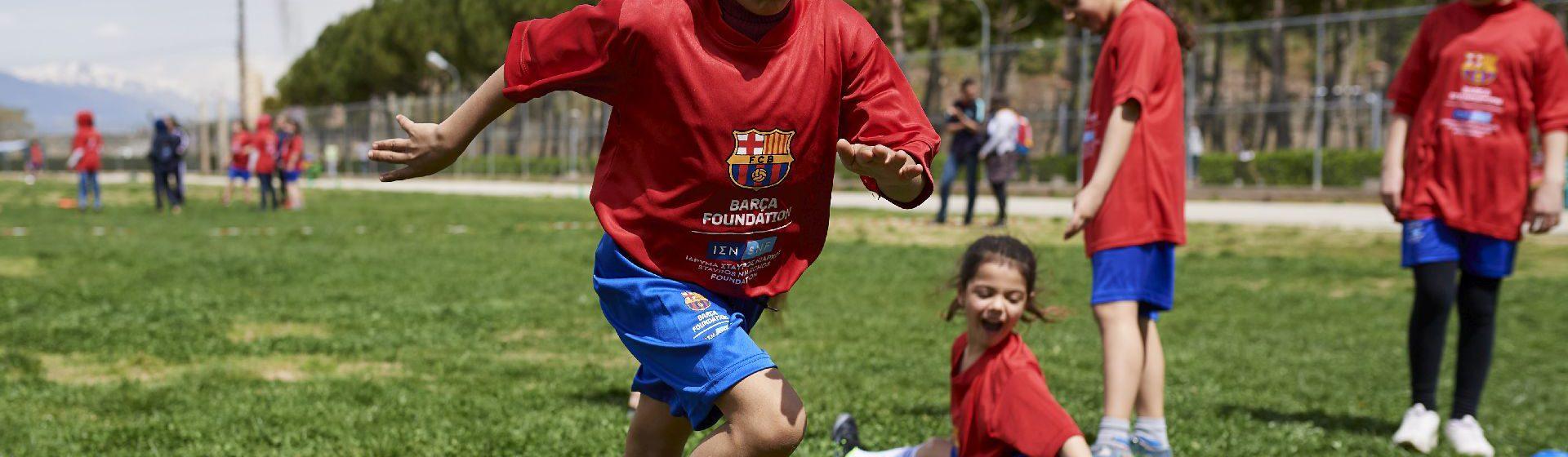 Barça Foundation header