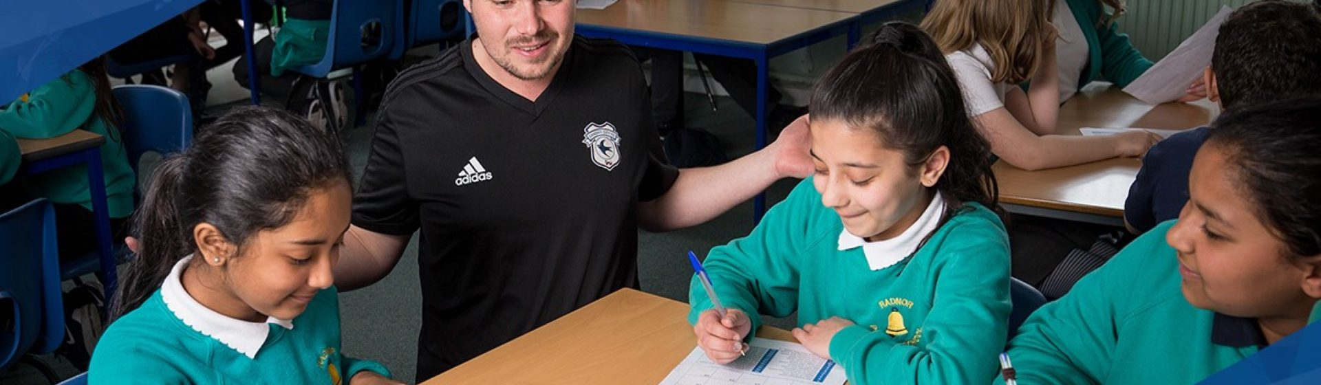 Cardiff City FC Community Foundation header