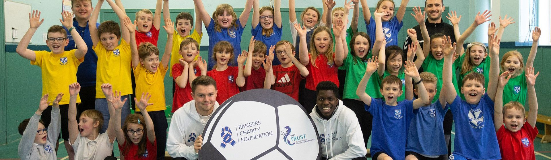 Rangers Charity Foundation header