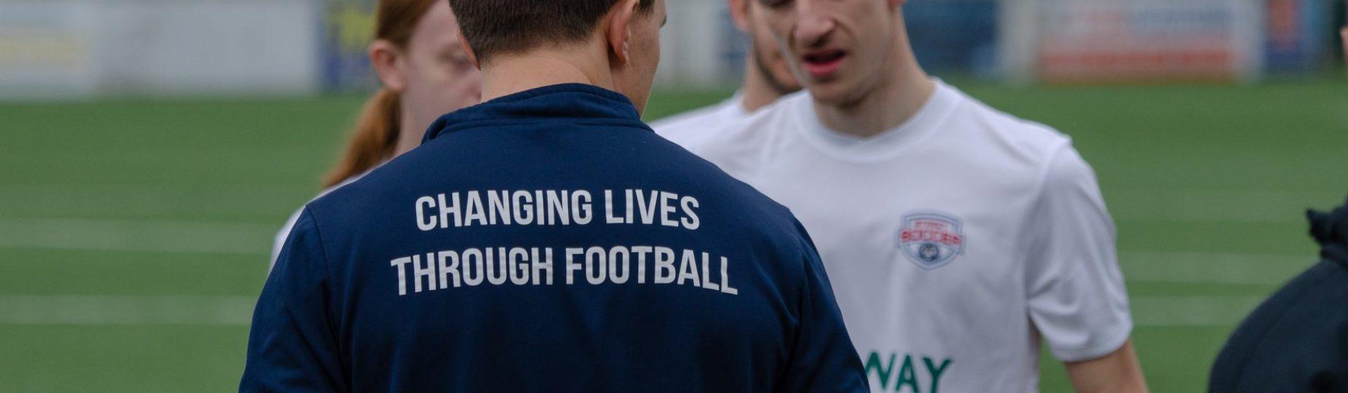 The Street Soccer Foundation header