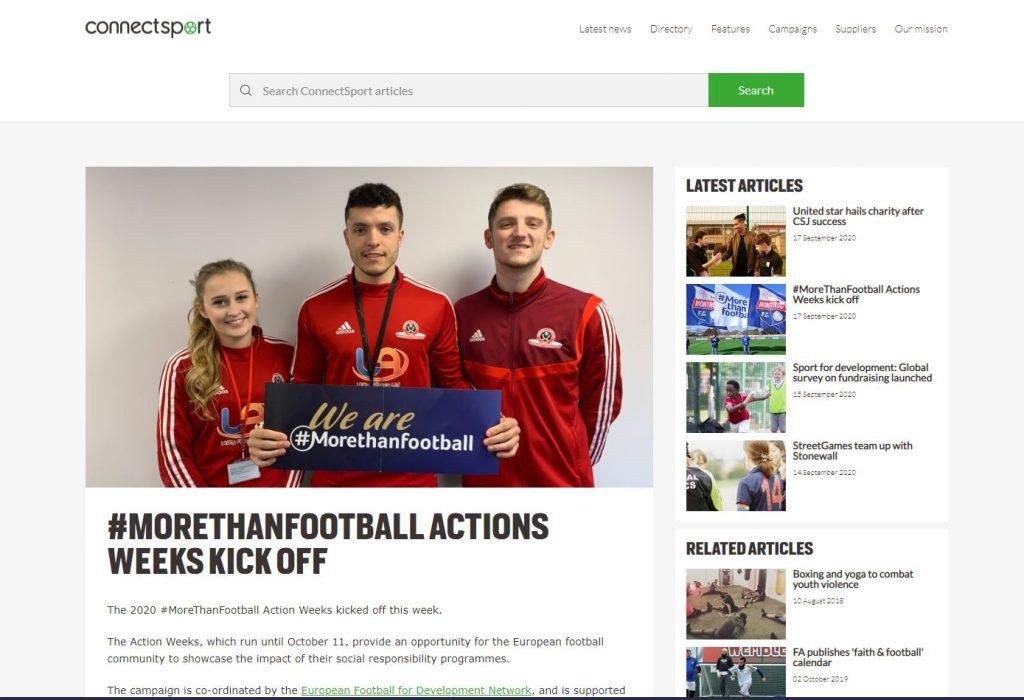 ConnectSport.co.uk 17/09/2020