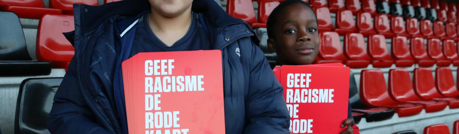 Geef Racisme de Rode Kaart header